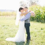 Country Wedding Bride & Groom
