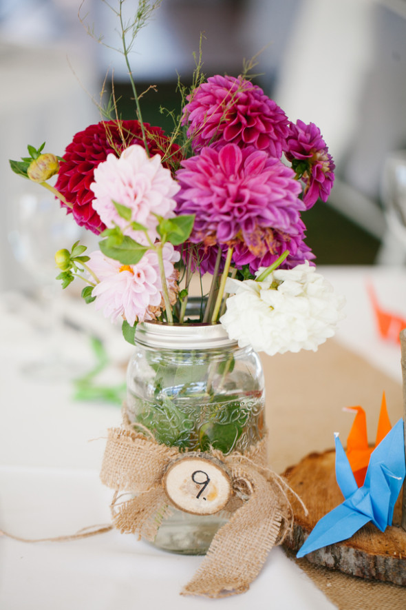 Backyard Wedding With Do It Yourself Decorations - Rustic ...