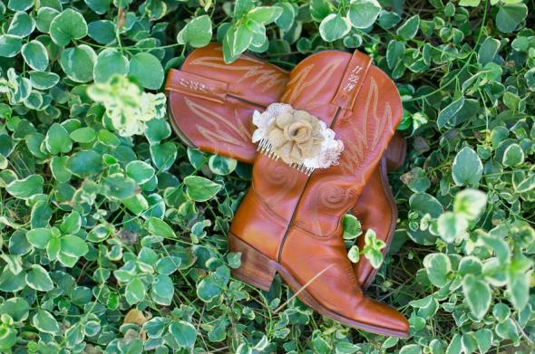 Cowboy Boots For Bride