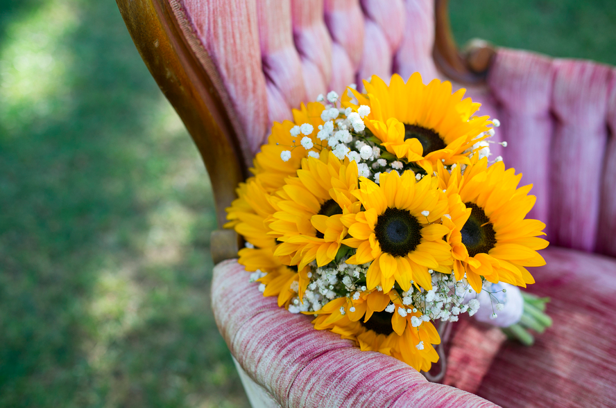 Rustic Sunflower Wedding Anna Ricky