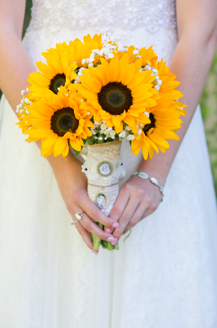 Rustic Sunflower Wedding