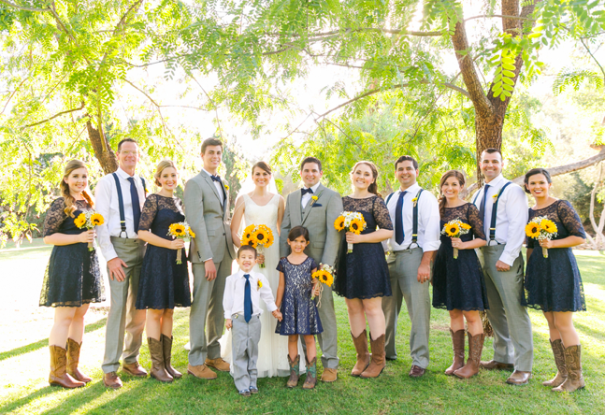 Rustic Sunflower Wedding: Anna + Ricky