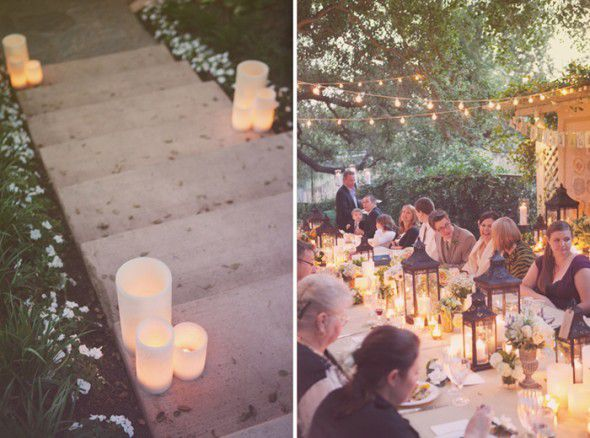 How To Plan An At Home Rehearsal Dinner Rustic Wedding Chic