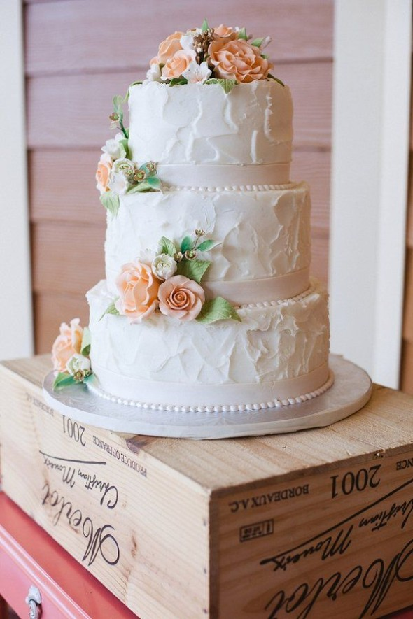 Vintage Style Wedding Cakes