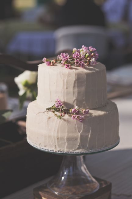 Ideas For A Vintage Style Wedding Cake