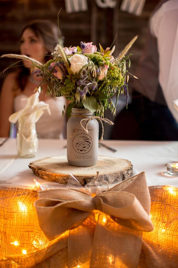 Western style barn wedding rustic chic