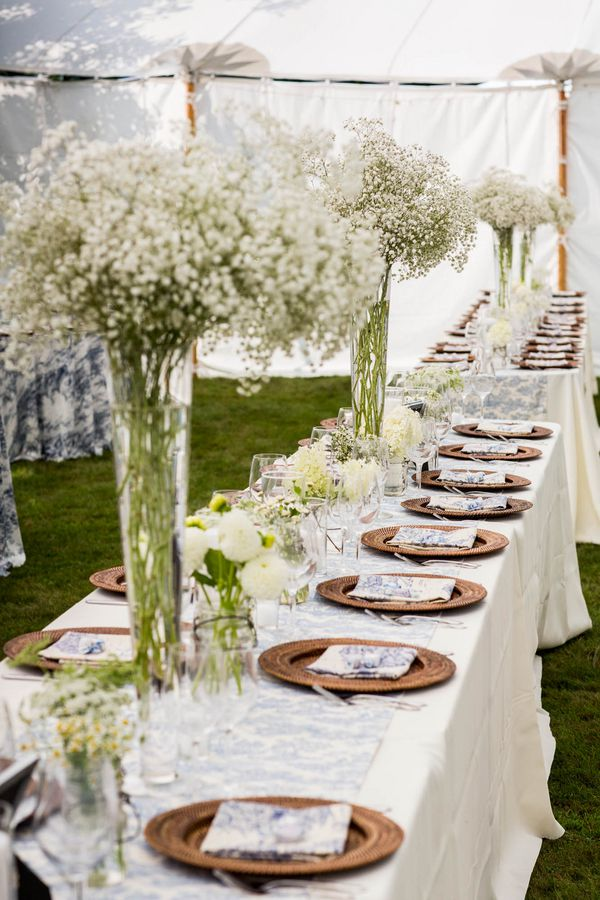 Maine barn wedding morgan pete rustic wedding chic decorations long wedding tables junglespirit Choice Image