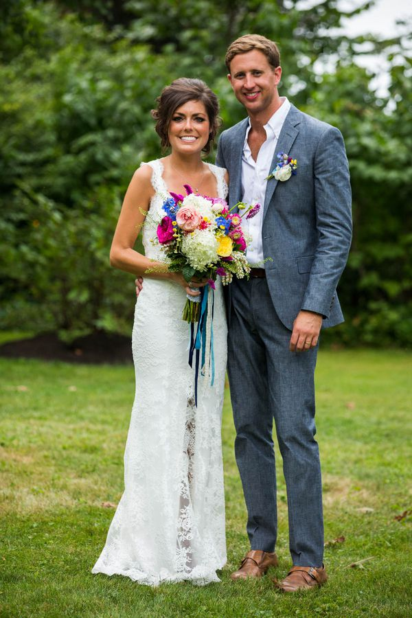 Maine Barn Wedding Morgan Pete Rustic Wedding Chic