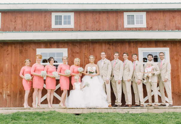 Vintage Barn Wedding: Chelsey + Eric