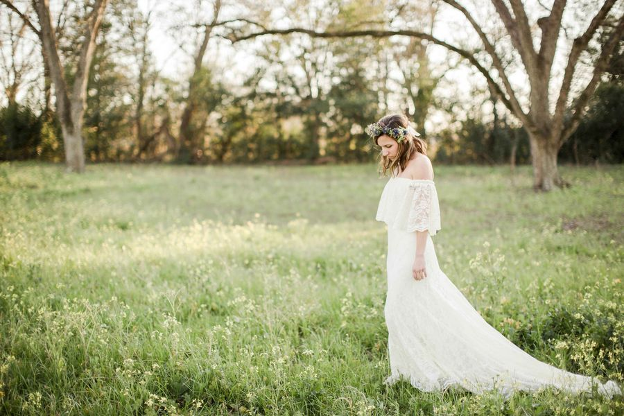 Boho Style Bride