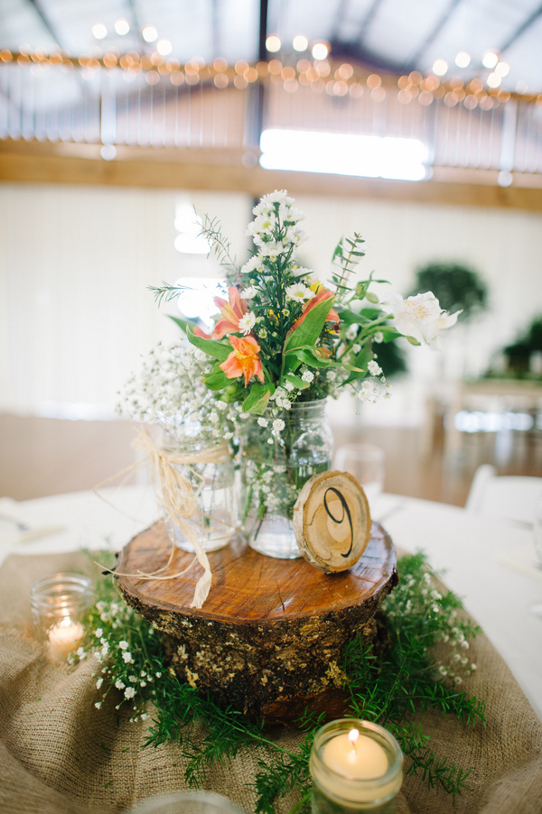Southern inspired outdoor wedding rustic chic