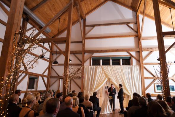 Winter Barn Wedding