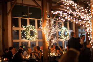 Holiday Barn Wedding: Samantha + Roberto