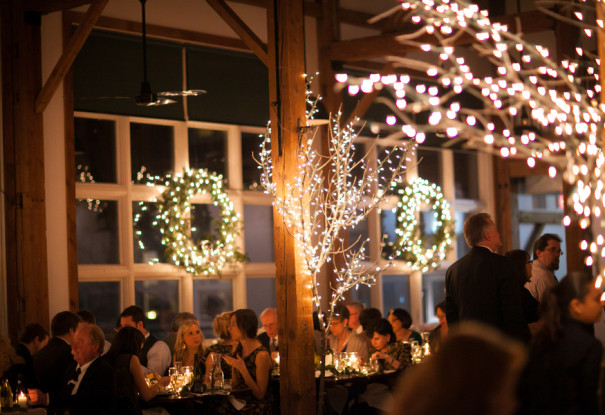 Holiday Barn Wedding: Samantha + Roberto