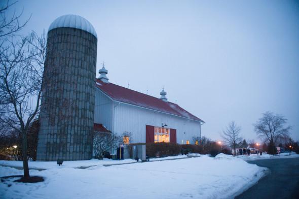 Holiday Barn Wedding