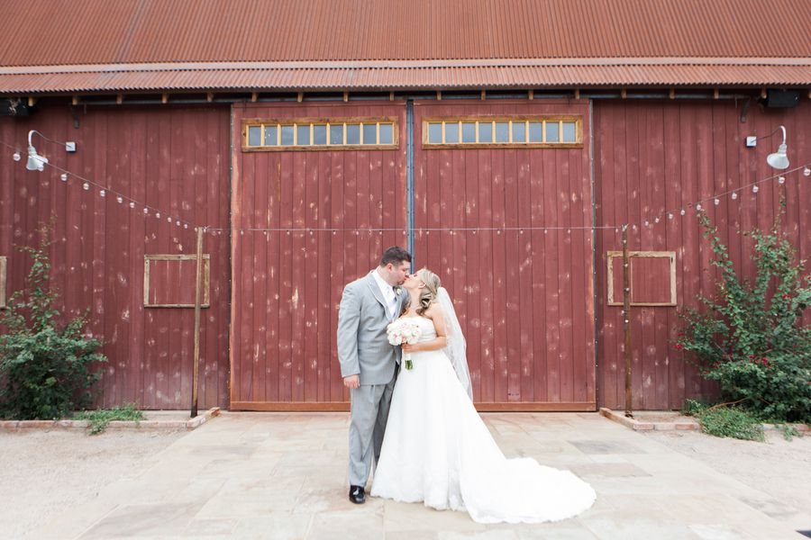 Rustic Wedding Couple