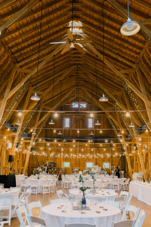western barn wedding