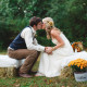Fall Rustic Outdoor Wedding