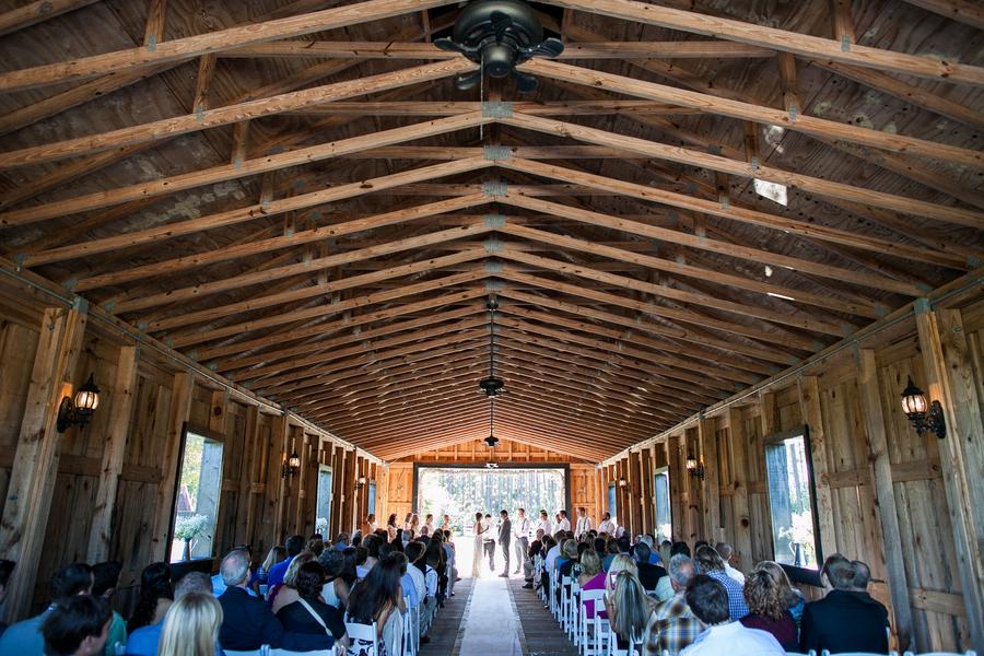 Open Sided Barn Wedding Rustic Wedding Chic