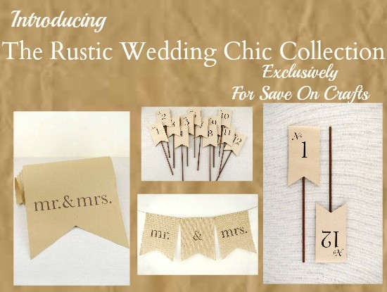 Rustic wedding chic save on crafts for Save on crafts wedding