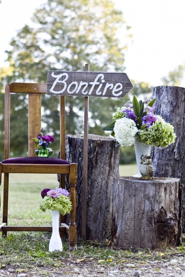 25 ideas for an outdoor wedding rustic wedding chic 25 great ideas for an outdoor wedding junglespirit Image collections