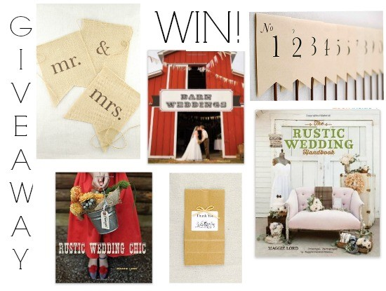Rustic Wedding Chic Decoration Giveaway