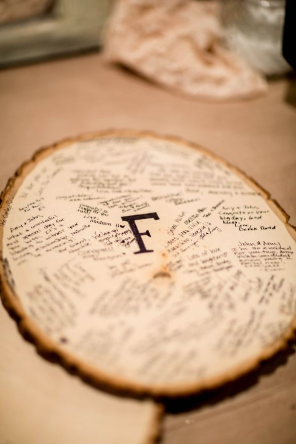 Unique Guestbook Ideas Rustic Wedding Chic