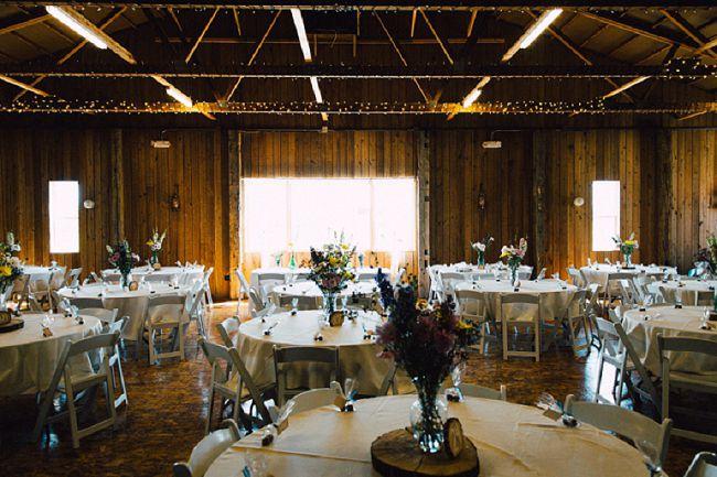 Navy Blue Barn Wedding Rustic Wedding Chic