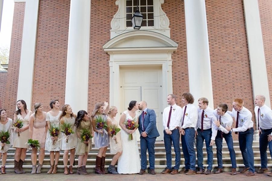 Casual Outdoor Backyard Wedding