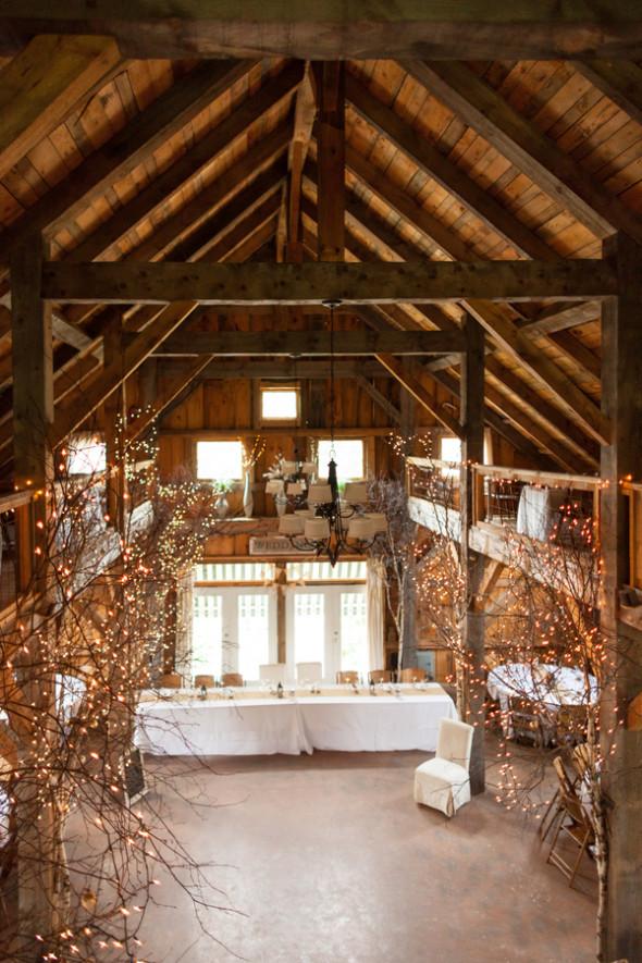 Summer Barn Wedding In New England - Rustic Wedding Chic