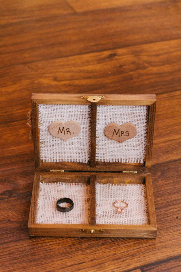 Our Favorite Rustic Wood Ring Boxes Rustic Wedding Chic