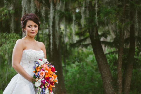 Rustic Chic Bride At Her Barn Wedding