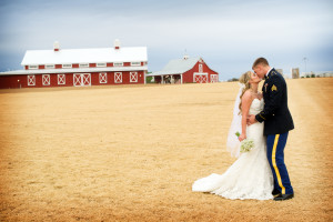 Military Rustic Wedding: Katie + Daniel