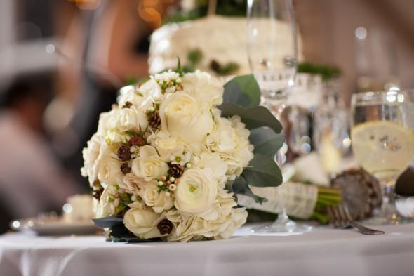 Holiday Wedding Bouquet