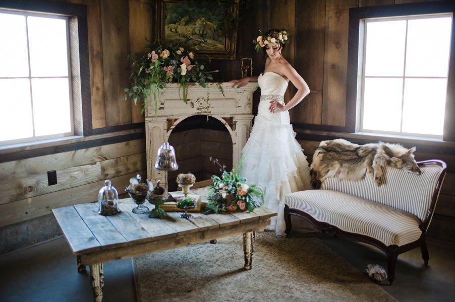 Rustic Wedding Inspiration Shoot