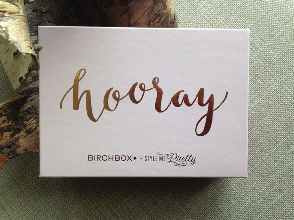 The Style Me Pretty ''I Definitely Do' Birchbox