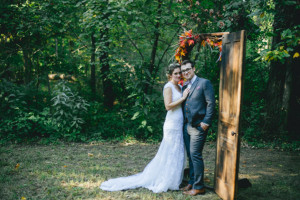 An amazing rustic wedding with beautiful details.