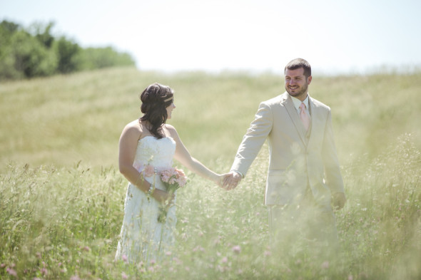 Outdoor Wedding With Hay Bales Rustic Wedding Chic