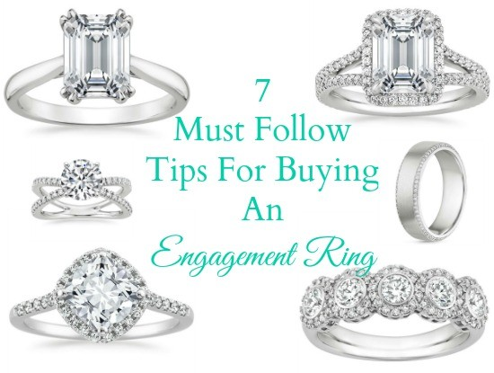 7 Must-Follow Tips For Buying An Engagement Ring