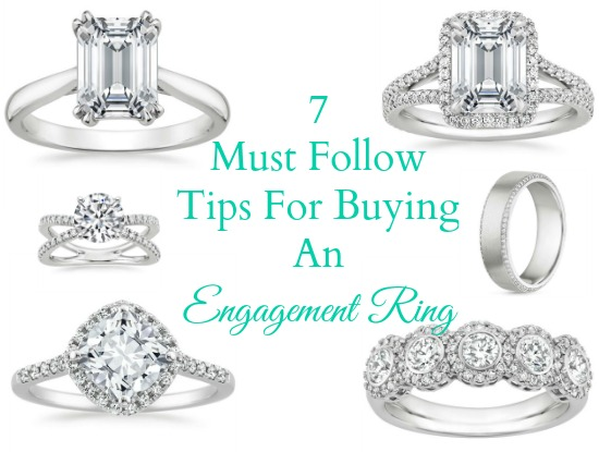 Must Follow Tips For Buying An Engagement Ring