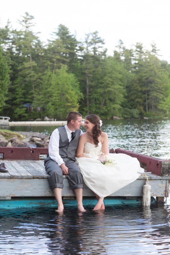 Maine Summer Camp Wedding Rustic Wedding Chic