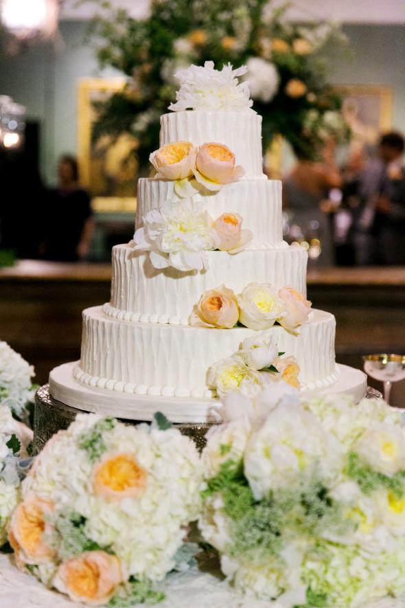 Large White Wedding Cake