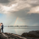 Rustic Maine Island Wedding