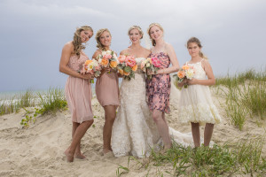 Natural Beach Wedding With Rustic Style
