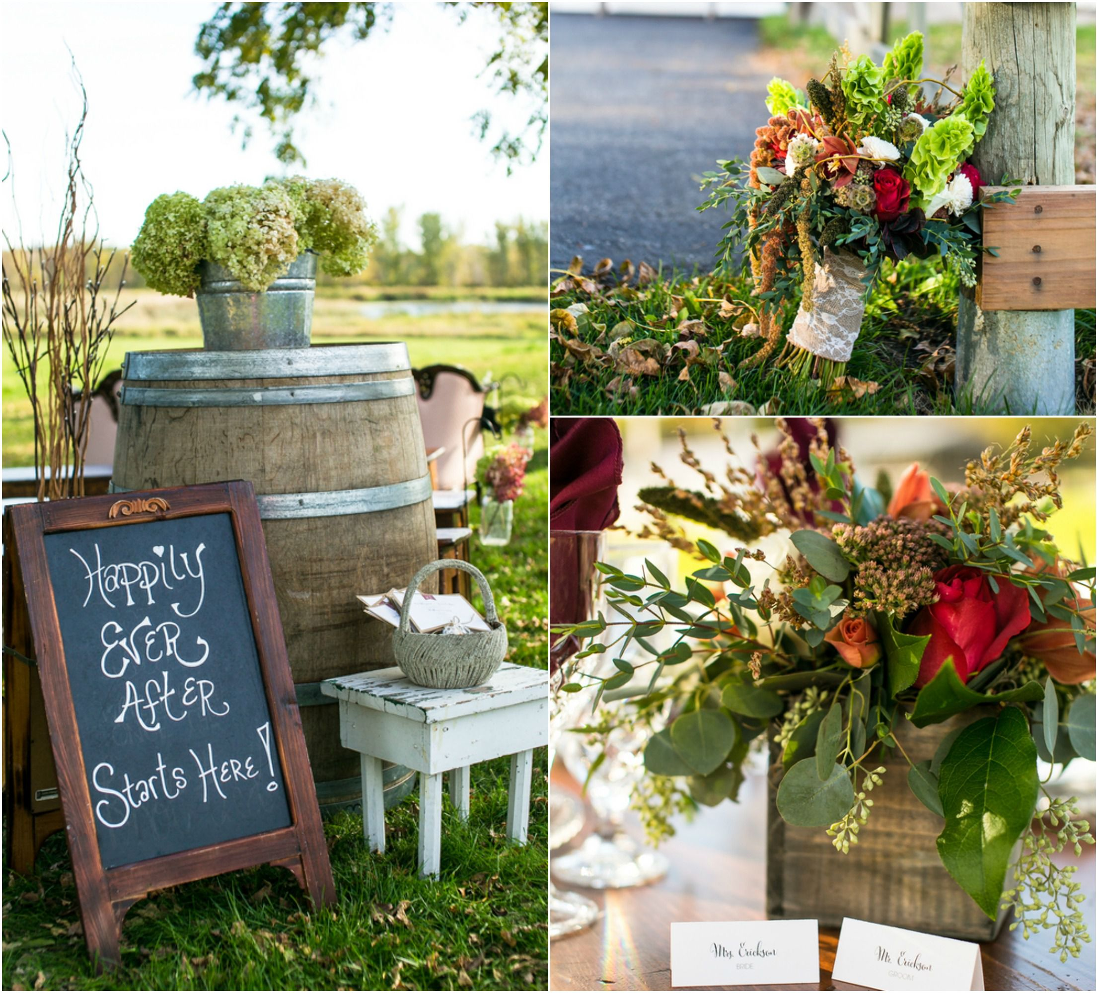 Backyard Farm Wedding Inspiration