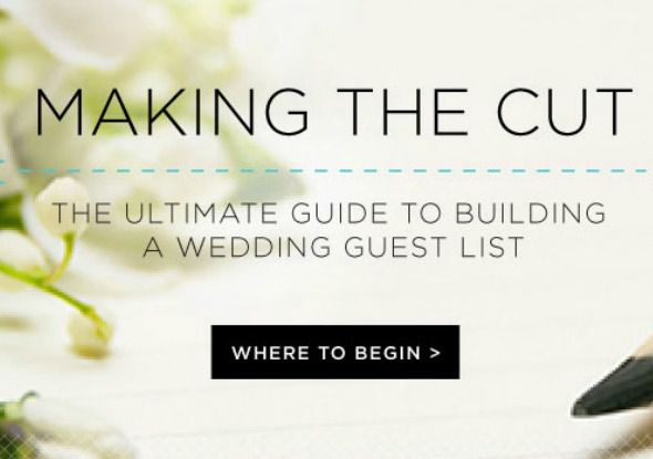 7 simple steps for creating a wedding guest list rustic wedding chic