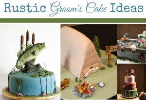 Rustic Groom's Cake Ideas
