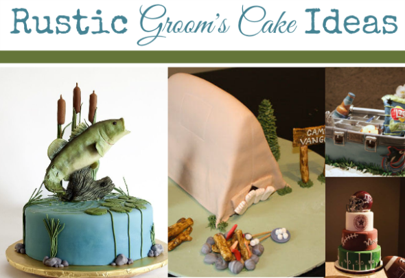 Rustic Groom's Cake Ideas