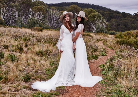 Grace loves lace wedding dresses rustic wedding chic for Casual mountain wedding dresses