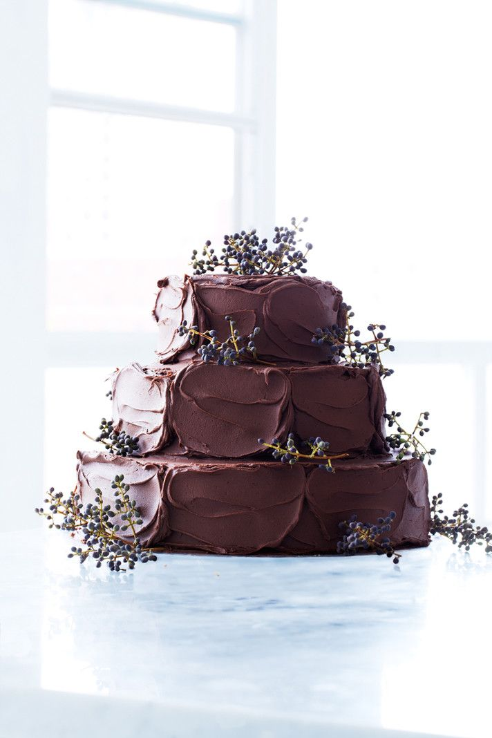 rustic chocolate wedding cakes rustic wedding chic. Black Bedroom Furniture Sets. Home Design Ideas